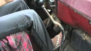 Davidsfarm   1366   B94PO27lwB8   SQ   Sara learns to drive chev 427 dumptruck