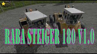 "[""RABA STEIGER 180 V1.0"", ""RABA STEIGER 180"", ""Mod Vorstellung Farming Simulator Ls17:RABA STEIGER 180""]"