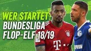 Die Flop-Elf der Bundesliga Saison 2018/19!