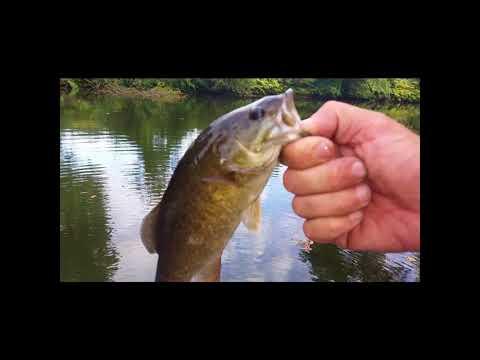 Pompton River Fishing NJ