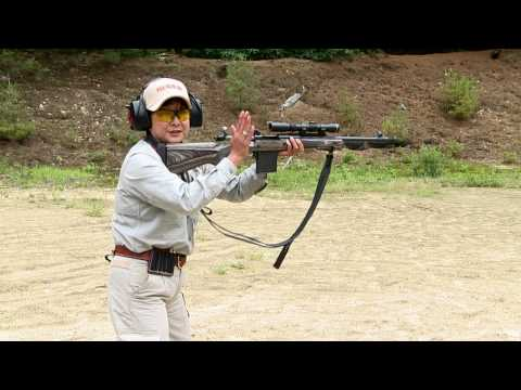 5. Ruger Gunsite Scout Rifle -- Loading