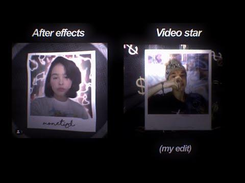 Recreated an AE edit on Video Star