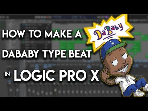 👶 How To Make A Da Baby Type Beat In Logic Pro X | Trap Beat From Scratch