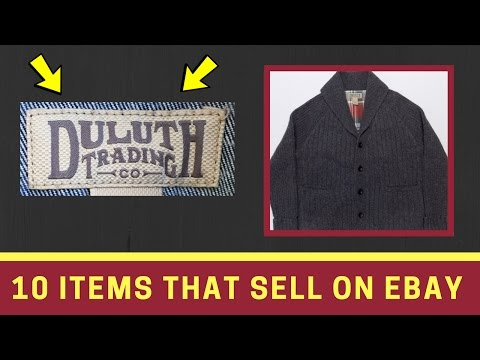 What Sells On Ebay? Duluth Trading Company Clothing