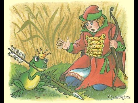 """Анализ сказки """"царевна-лягушка"""". Которых старшие снохи с успехом провалили, а жена ивана-царевича, оказавшаяся на самом деле заколдованной."""