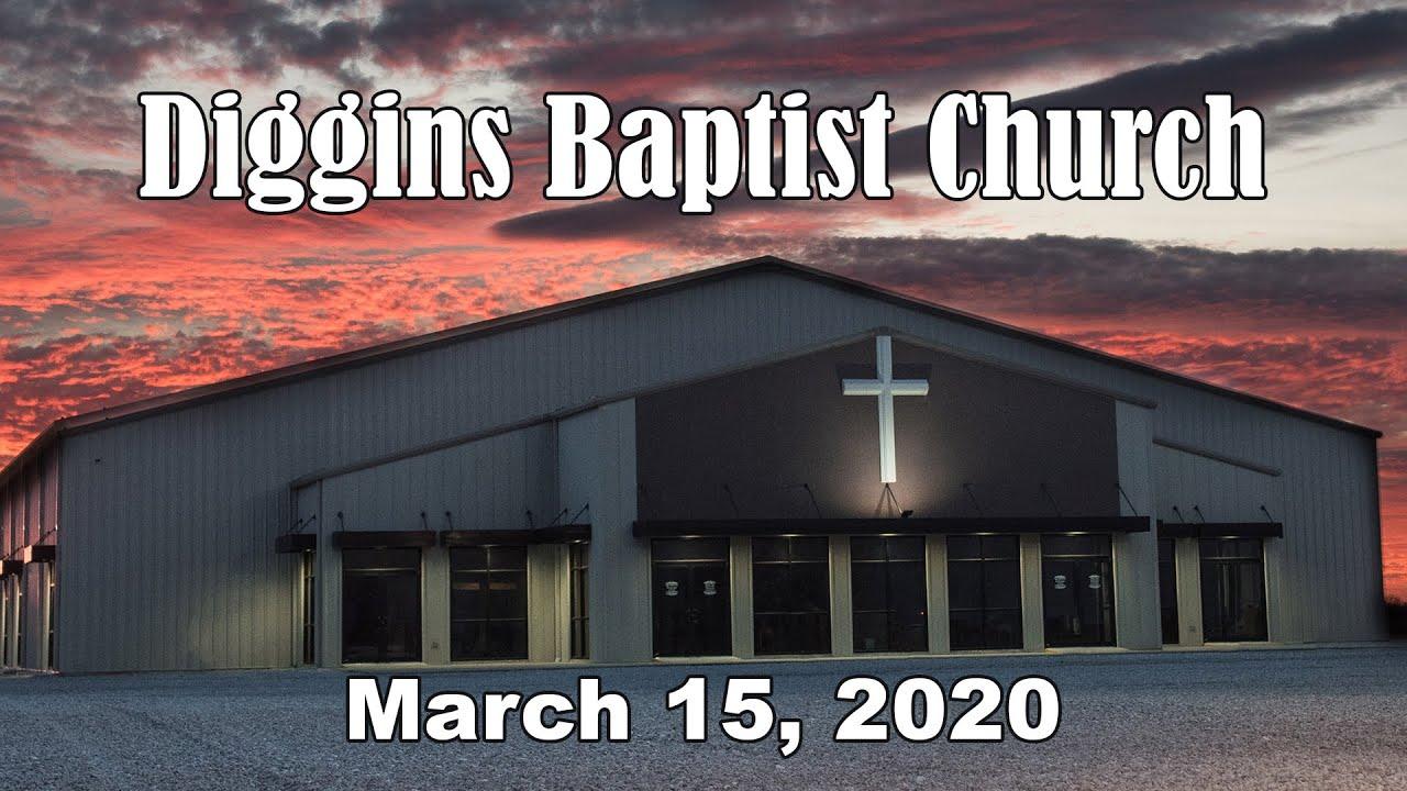 Diggins Baptist Church Christmas Service 2020 Diggins Baptist Church   March 15, 2020 Sermon   Do Not Worry