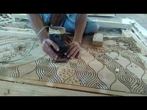 Cara mengukir kayu asli orang jepara kota ukir