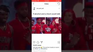 Acohol vs blunts ( wild n out )