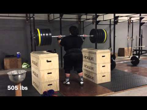 505 Lbs Over Head Push Press ( 21 Years Old)
