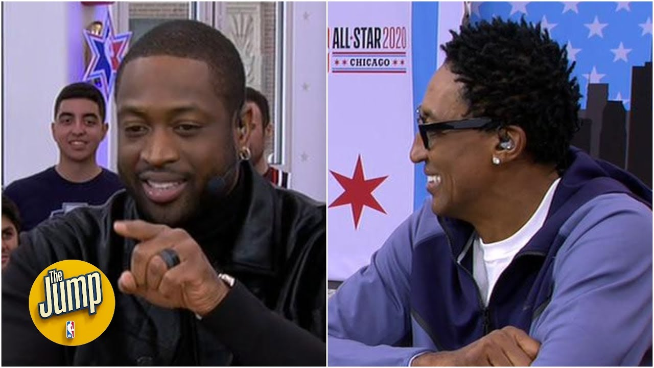 Dwyane Wade and Scottie Pippen on the time Wade's dad dunked on Scottie | The Jump