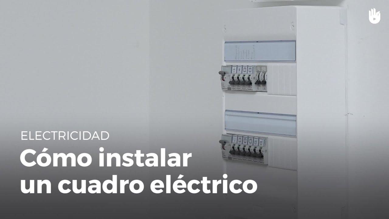 C mo instalar un cuadro el ctrico electricidad youtube - Como instalar termo electrico ...