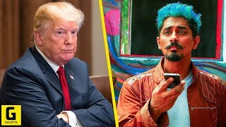 Trump-ஐ ஒரே வார்த்தையில் கலாய்த்த Siddharth