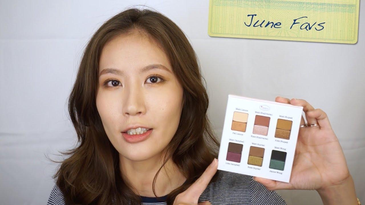 Celeste Wu 大沛   2018年6月愛用彩妝品 - YouTube