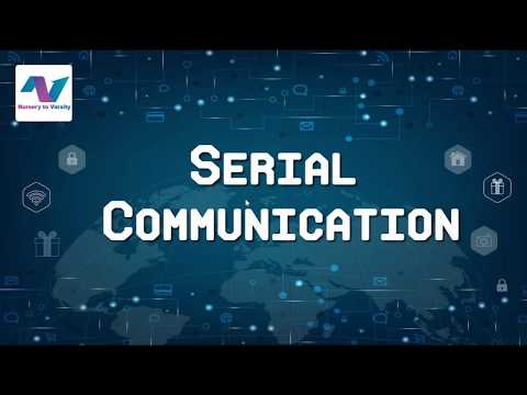Serial Communication | Internet Of Things (IoT) | IoT Explained ( Hindi) | Free Online Course