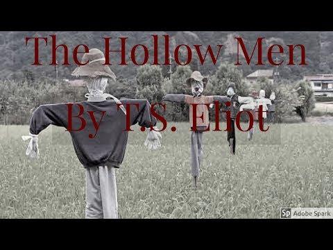 The Hollow Men [ Dark Poem ] By T S  Eliot