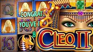 2 Bonuses on Cleopatra 2 - 5c IGT Video Slot - RE-TRIGGER