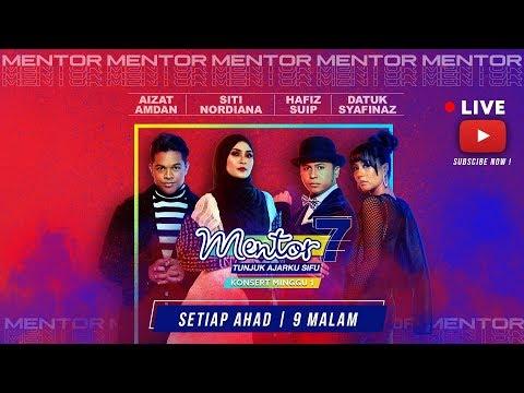 [LIVE]  Konsert Mentor [Minggu 1] - Datuk  Syafinaz & Aizat Amdan | #Mentor7