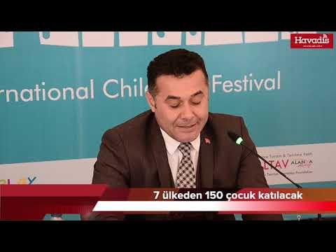 2. Alanya Uluslararası Çocuk Festivali Başlıyor