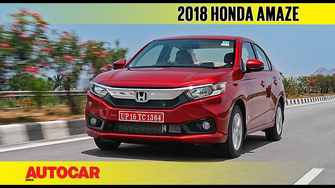 2018 Honda Amaze First Drive Review Autocar India Youtube