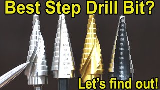 Which Step Drill Bit is Best? Let's find out! DeWalt, Milwaukee, Bosch, Irwin, Diablo, Makita, Bauer
