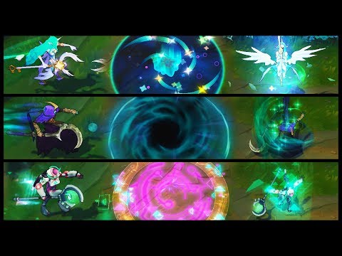 Star Guardian Soraka vs Reaper vs Program Epic Skins Comparison (League of Legends)