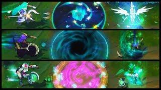 Star Guardian Soraka vs Reaper vs Program Epic Skins Comparison (League of Legends)