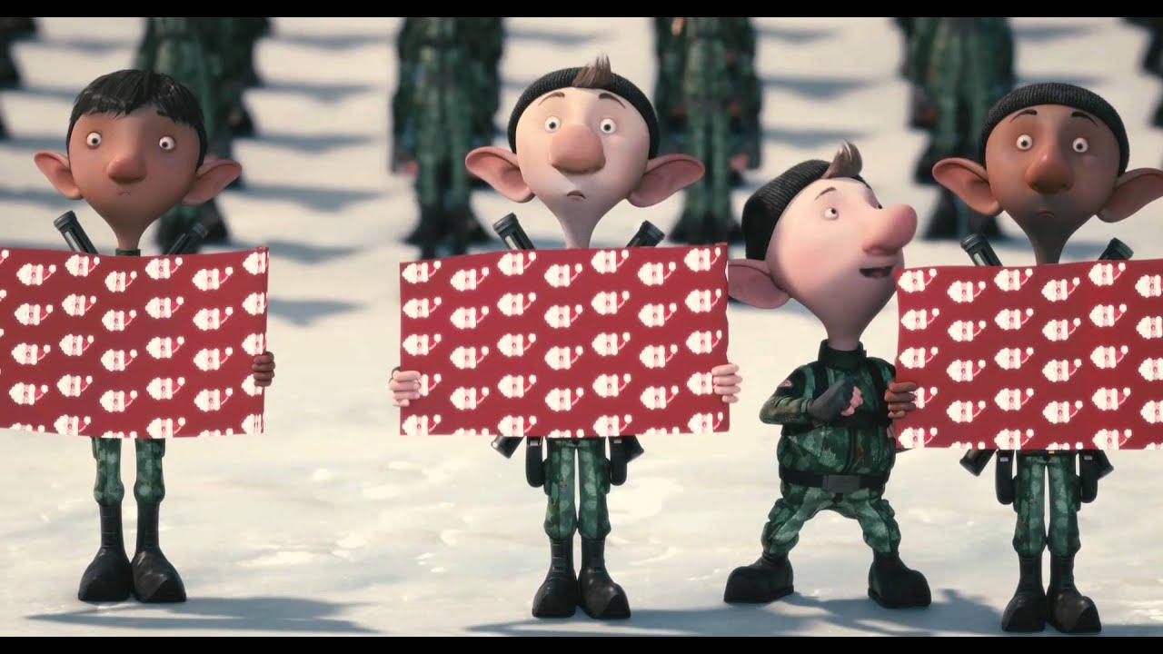 Секретная служба Санта-Клауса / Arthur Christmas - трейлер - YouTube