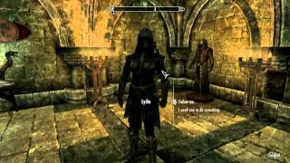 Skyrim - Change follower's clothes with the console (PC)