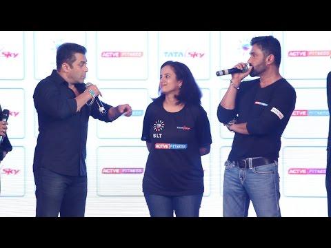 Question Answer Session | Salman Khan | Sunil Shetty | Active Fitness | Tata Sky