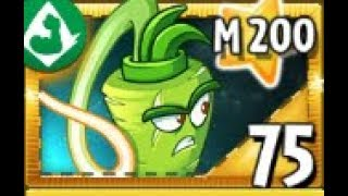 """PLANTS TEST !!! Plants vs Zombies 2 """" its about time """" Max Level & Mastery """"Wasabi whip"""""""