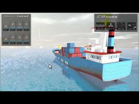 Ship Simulation (Trim & Stability)