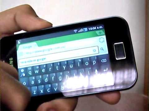 tutorial reparar pantallazos y wifi en galaxy ace s5830 doovi Samsung Galaxy Ace 6 Samsung Galaxy Ace S5830 Manual