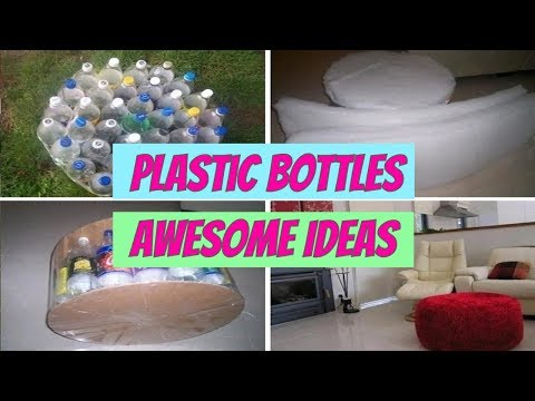 DIY | Awesome Creative Ideas for Plastic Bottles