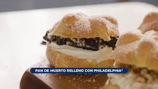 Pan de muerto relleno de Philadelphia®