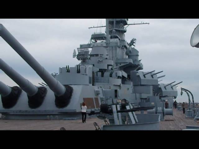 USS Alabama (BB-60) Battleship Travel Video