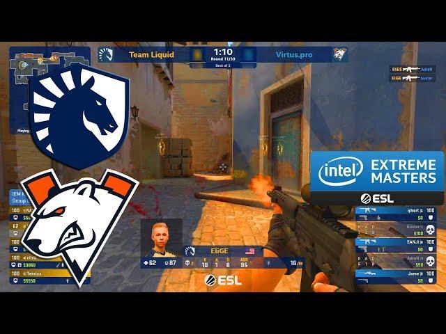 Liquid vs Virtus.Pro - IEM Katowice  2020 - CS:GO