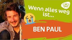 """""""Wo lande ich dann, wenn alles weg ist?""""-😬 🏞️🙏 Ben Paul im Interview"""