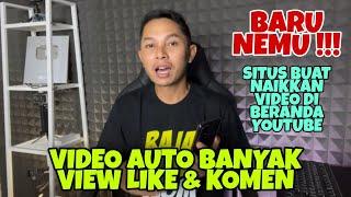 BARU NEMU !!! Situs menaikkan Video di Beranda Youtube