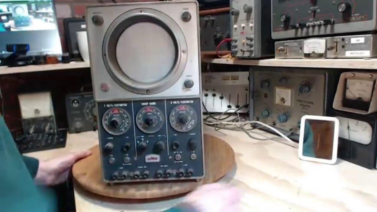 Download Du Mont 401A Oscilloscope Video #1 - Checkout
