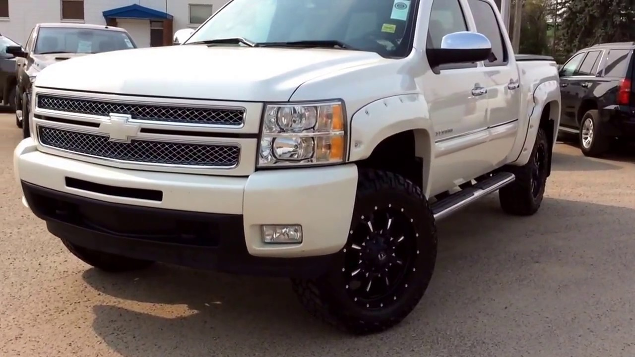 2013 Chevrolet Silverado Ltz 1500 4wd Crew With White Diamond Pkg