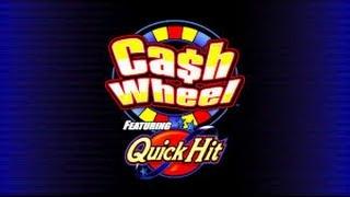 BIG WIN!!! Cash Wheel - Bally Slot Machine Bonus