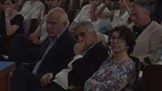 Lifschitz participó de la presentación del Inventario de Gases de Efecto Invernadero