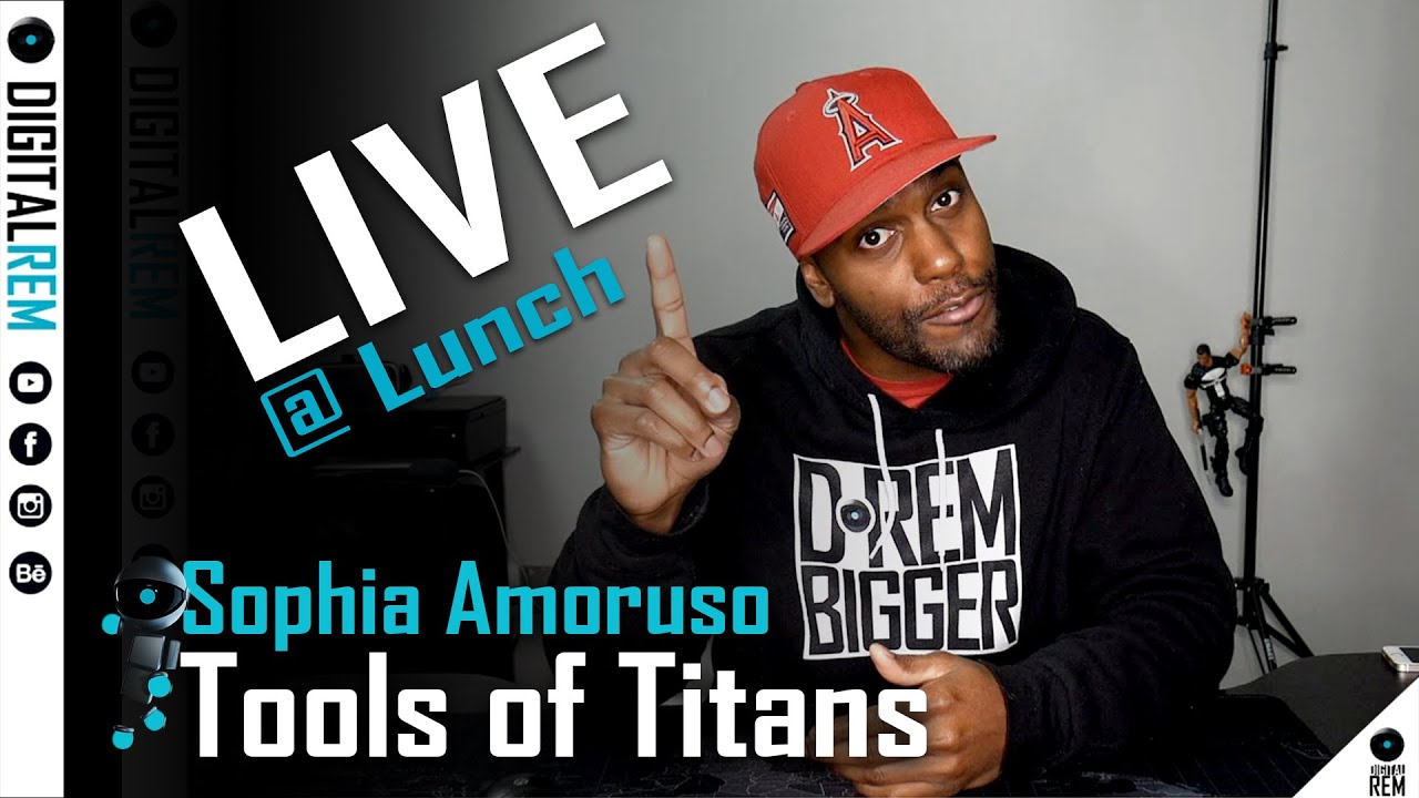 Live at Lunch | Tools of Titans | Sophia Amoruso
