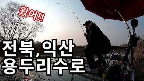 전북 익산 용두리 붕어낚시 [제7화] 다대편성대물낚시!극적만남!
