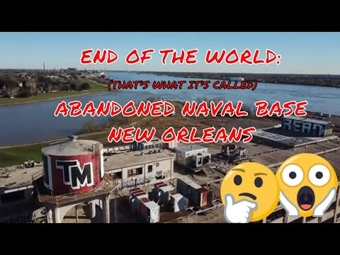 END OF THE WORLD: ABANDONED NAVAL CLINIC - DRONES OVER NEW ORLEANS