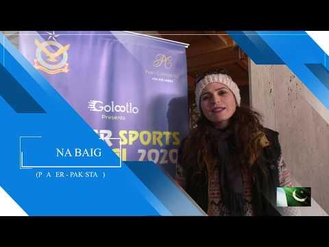 International Skiing Event is happening at Malam jabba