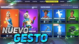 -NEW GESTURE! * DRAW * shop FORTNITE December 26