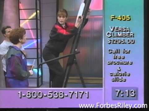 Forbes Riley hosts Fitness Plus on the Cable Health Club