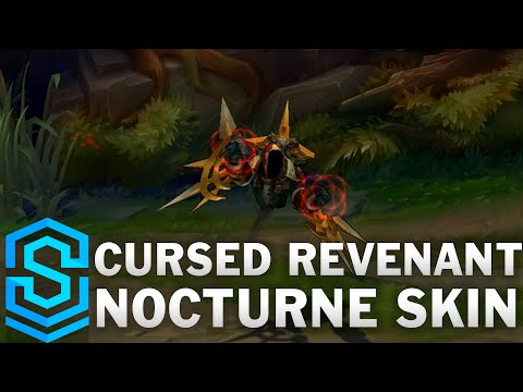 Cursed Revenant Nocturne Skin Spotlight - League of Legends