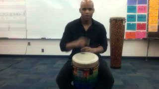 African Groove Rhythm#2: High Drum (I